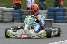 Dennis Anoschin erkämpfte sich den Sieg im Finale der KF2-Klasse